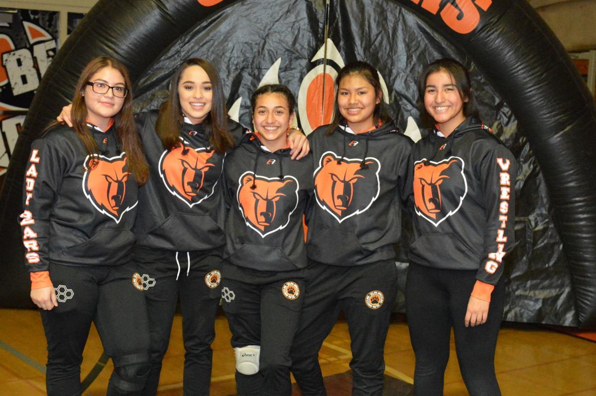 Selma girls wrestling: seniors