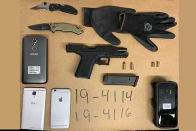 Four arrested: Firearm