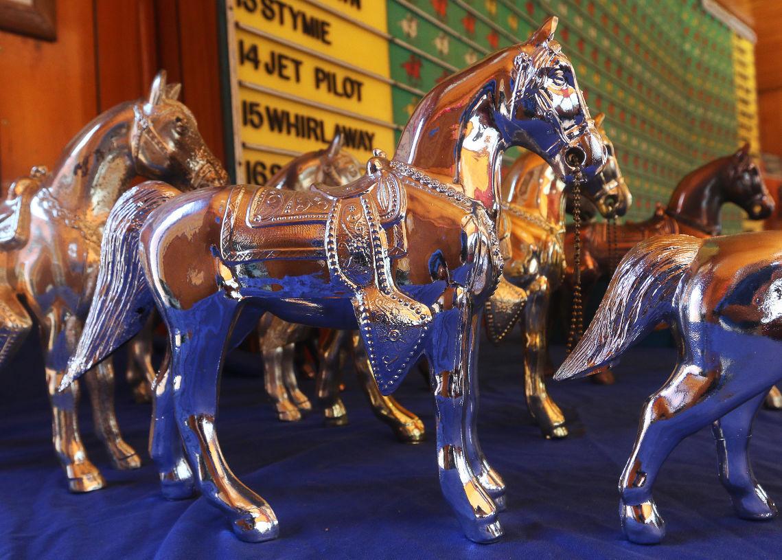 Rick Larson Horse Race Carnival game