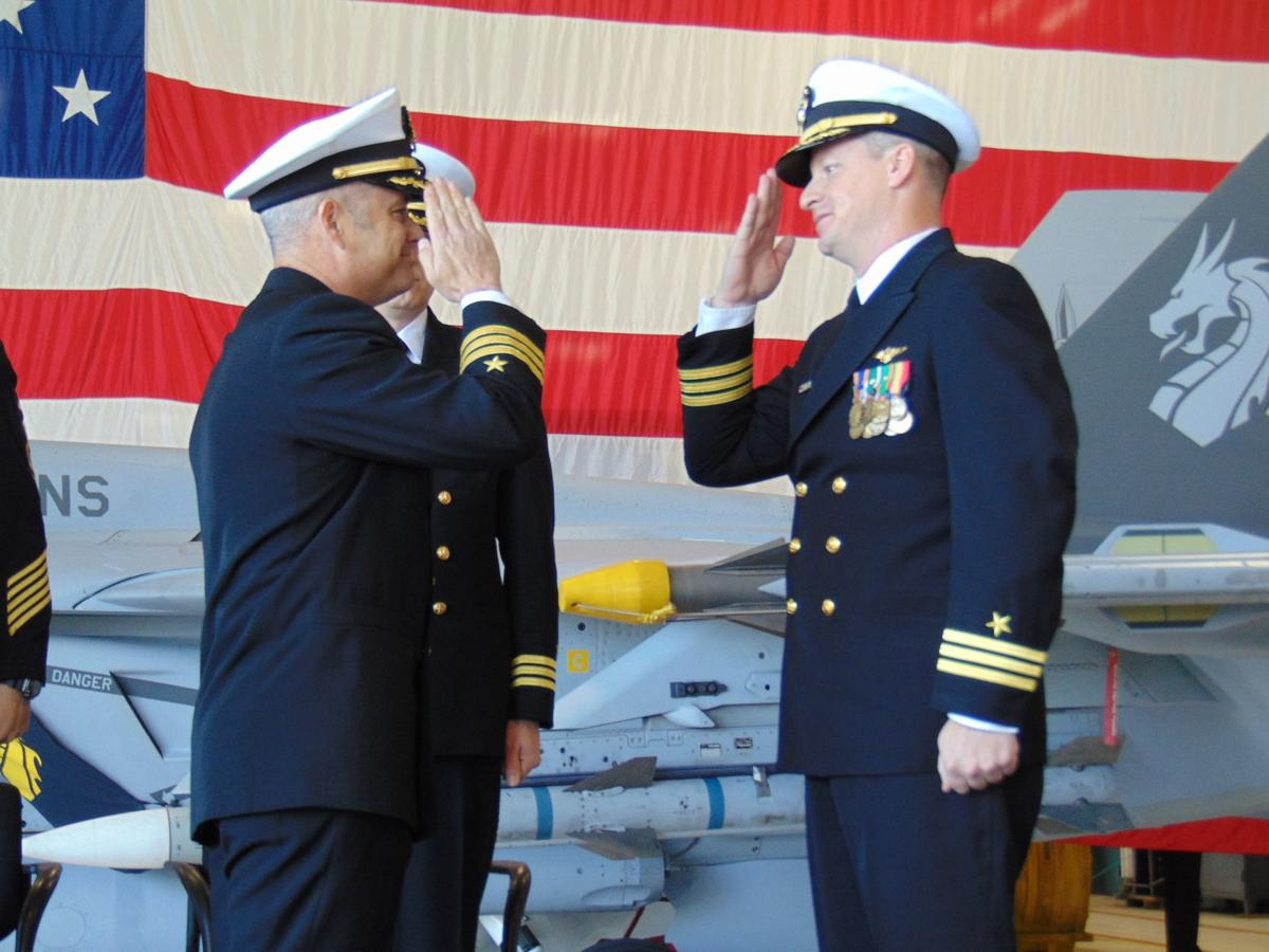 VFA-192 Holds Change of Command Ceremony