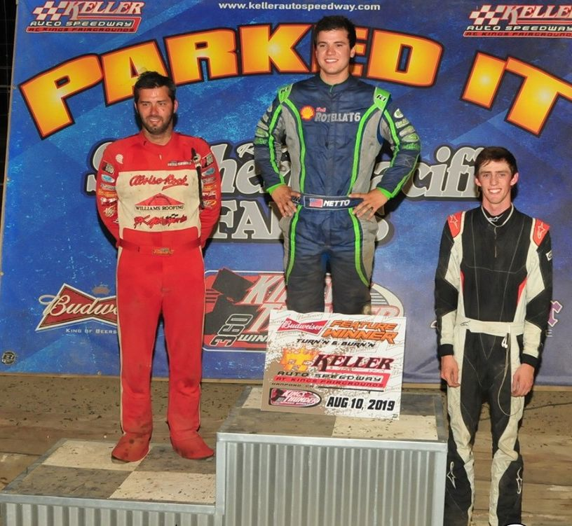 Netto, Baronian, Win at Keller Auto Speedway