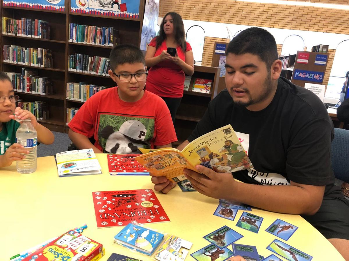 Kid's Day at library