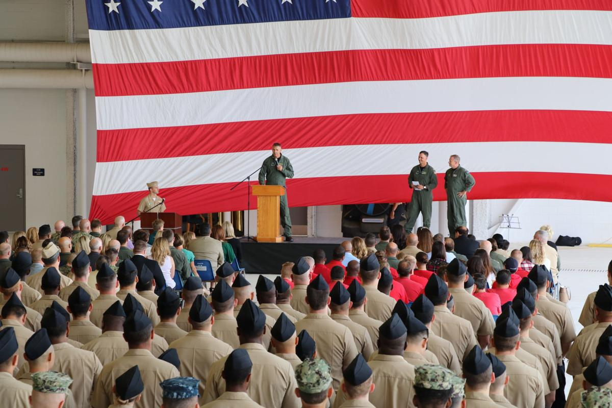 Strike Fighter Squadron (VFA) 125 Holds Change of Command Ceremony