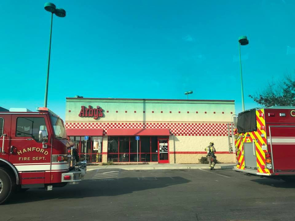 Arby's fire