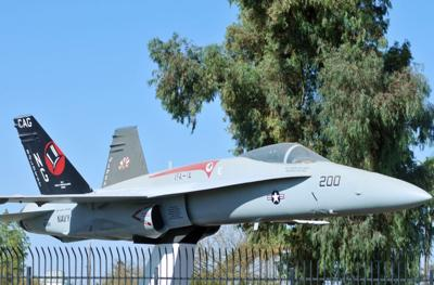 50 Objects NASL Former Blue Angels FA-18