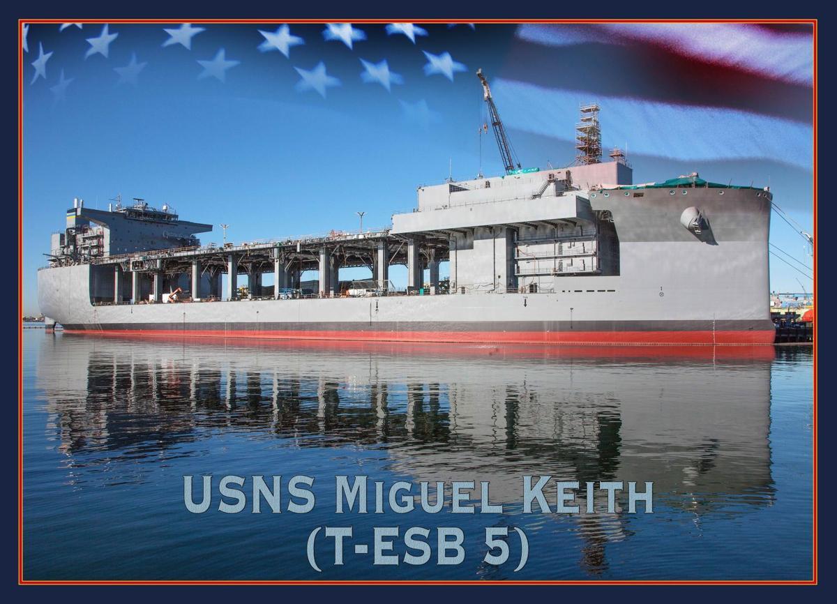 SECNAV names new Expeditionary Sea Base