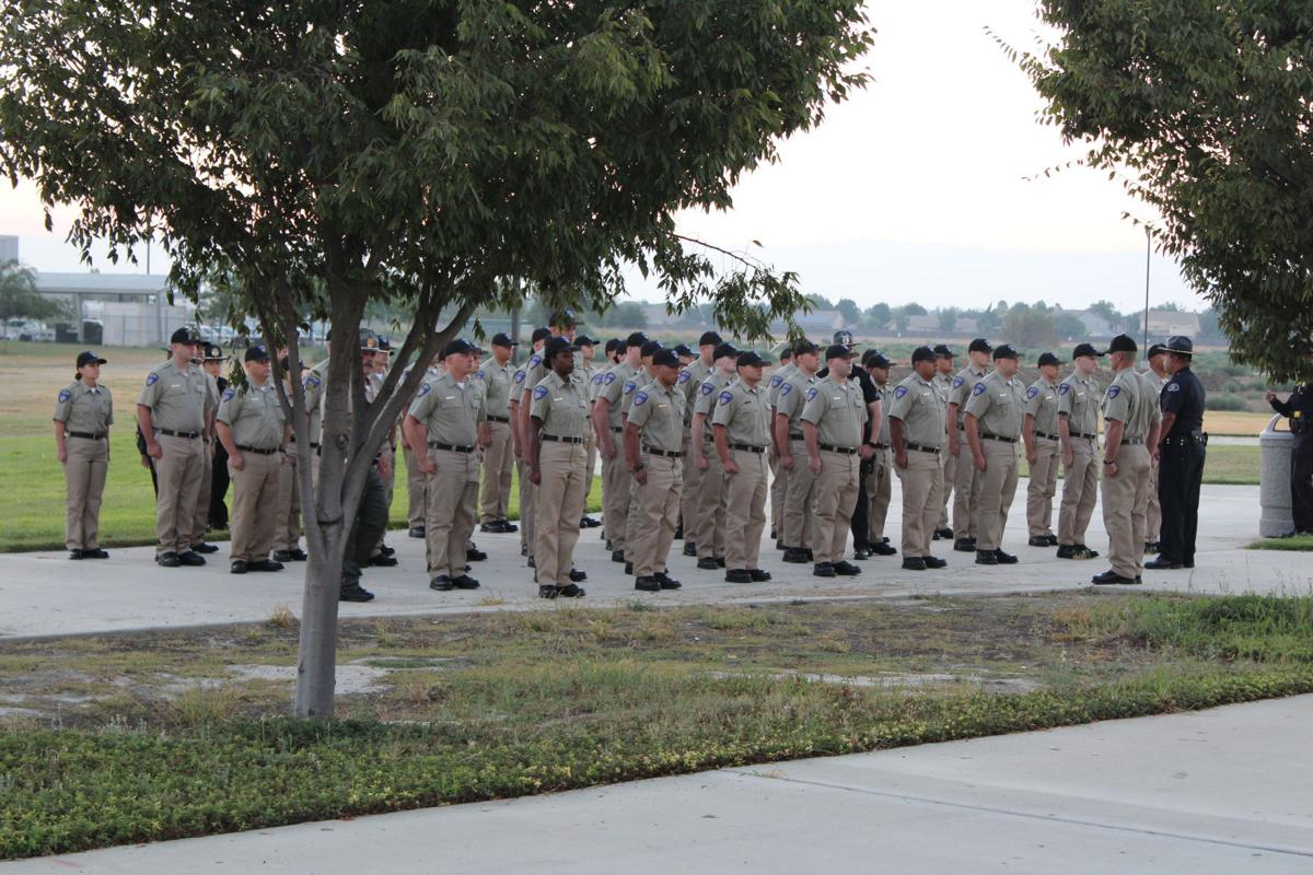 Police Officers in training