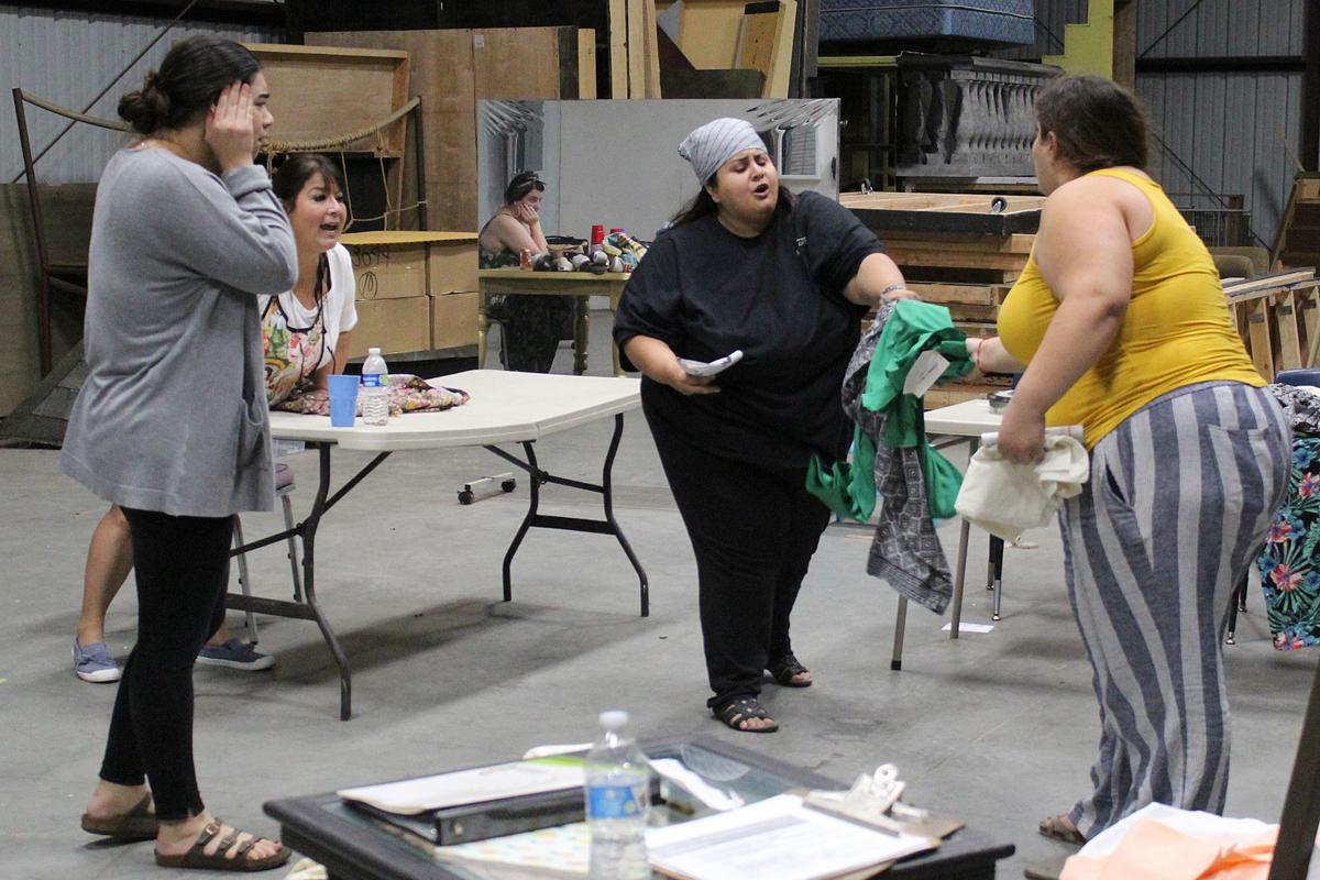 'Real Women': Rehearsals