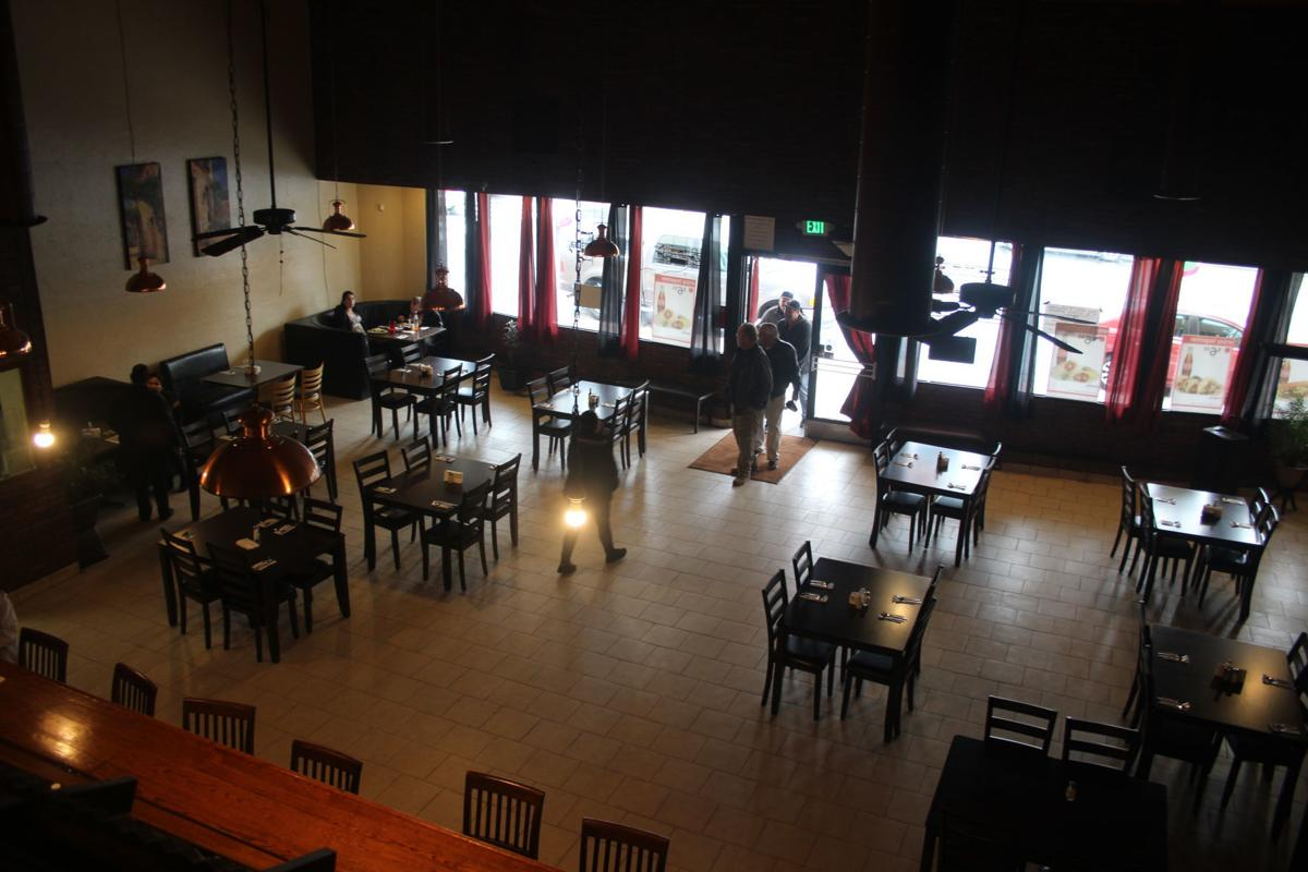 Inside Restaurant Guanajuatense
