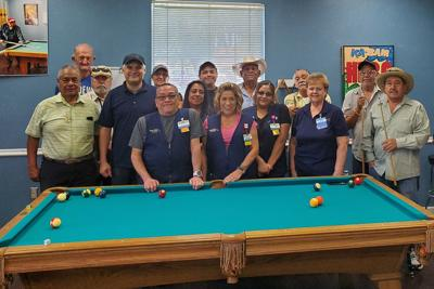 Walmart grant: Senior center pool table