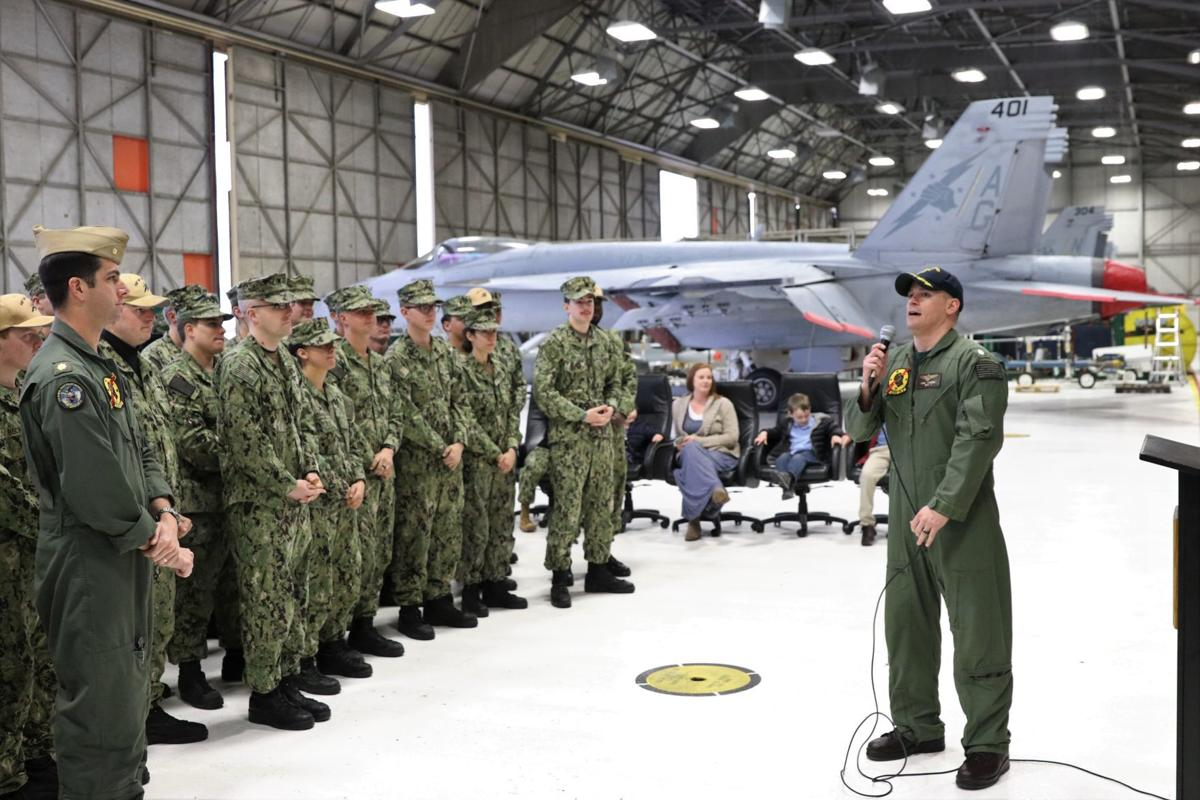 """VFA-25 """"First of the Fleet"""" Change of Command"""
