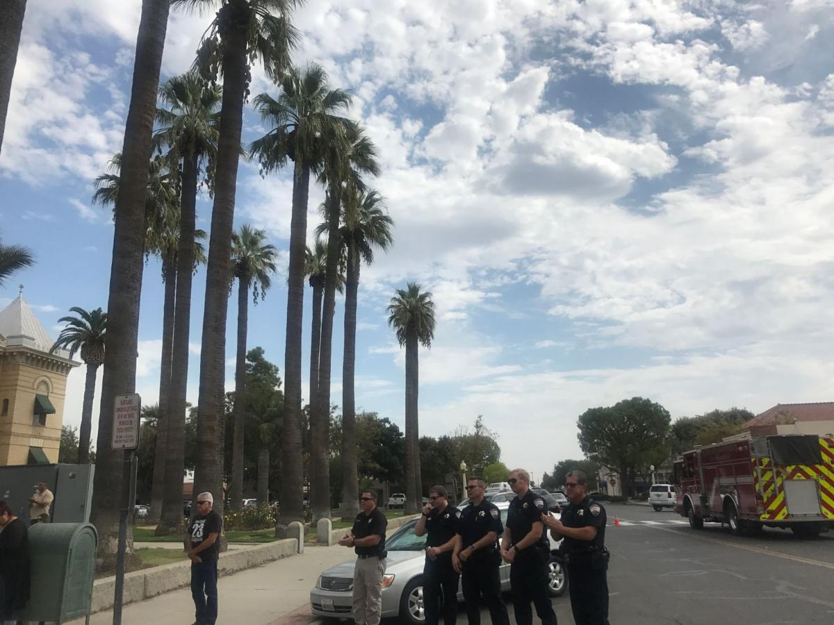 Local first responders honored during 9/11 ceremony