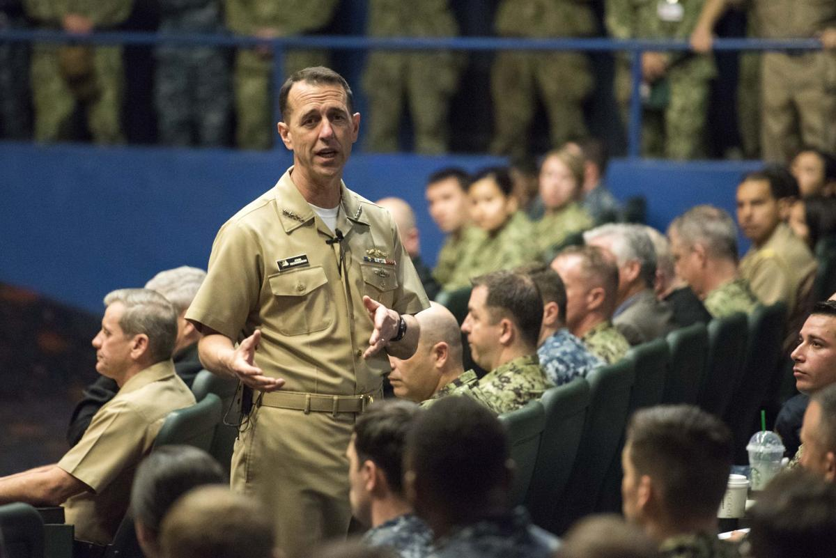 CNO to San Diego Surface Force - 'Earn it Everyday'