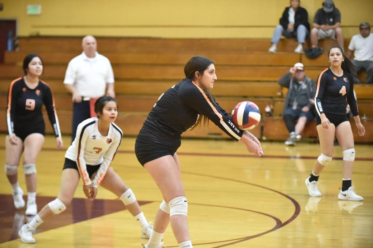 Selma volleyball: Khori Cranford