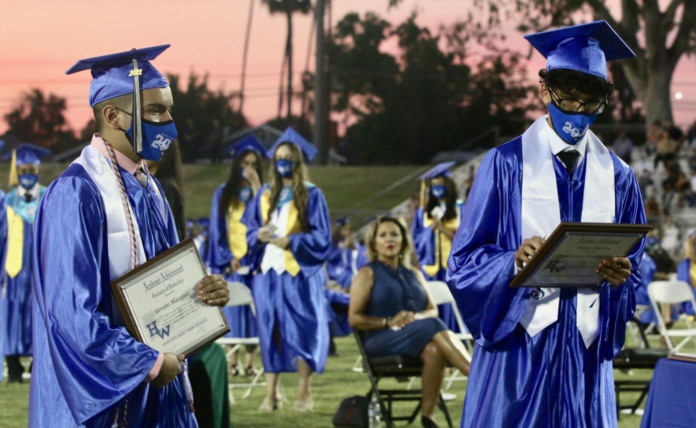 hanford west graduation 4