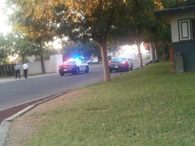 Police at Santa Fe Mini Storage