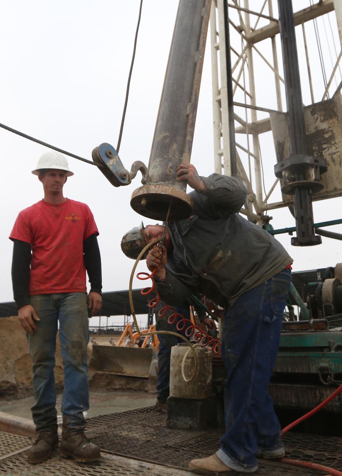 Well drilling on 16th Avenue near Flint avenue