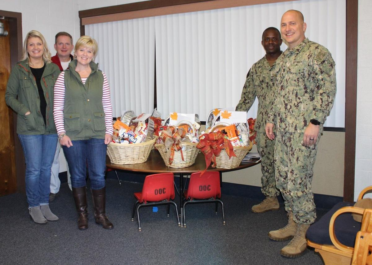 "NAS Lemoore kicks of holiday season with Thanksgiving ""bountiful baskets"""