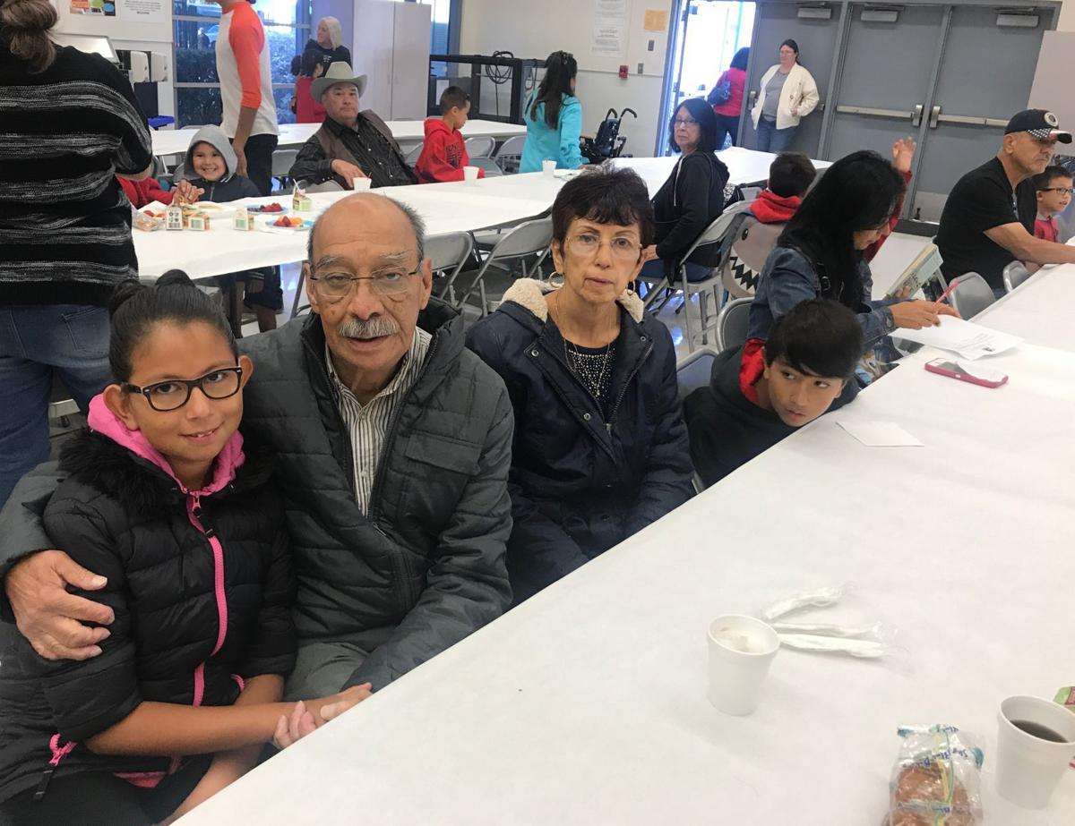Monroe Elementary celebrates their first annual Grandparents Day