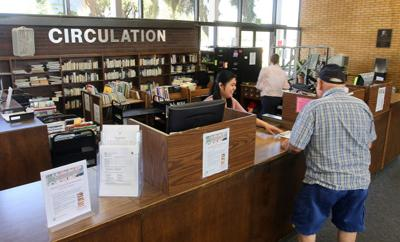 Library closure for renovations