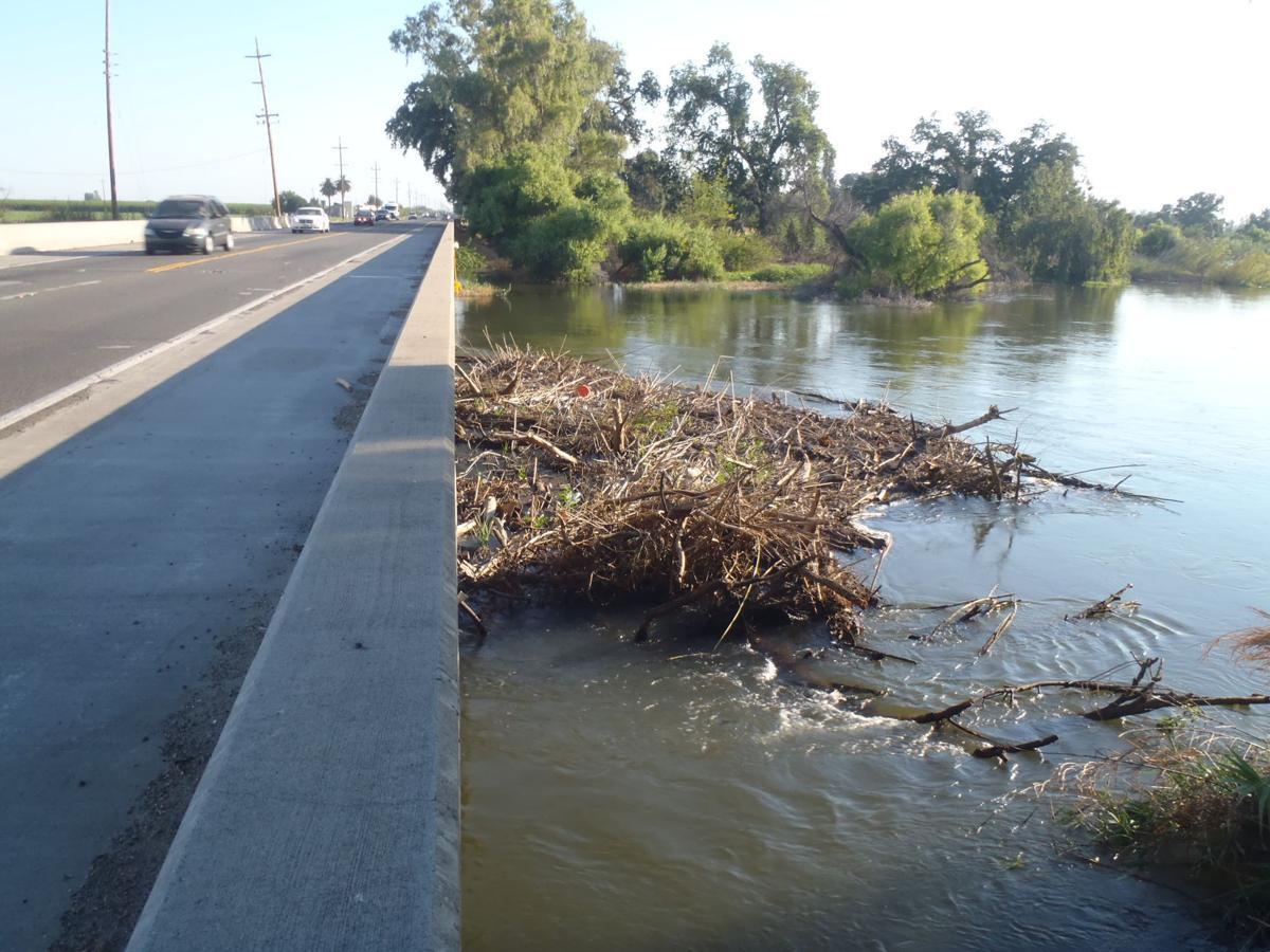 river debris