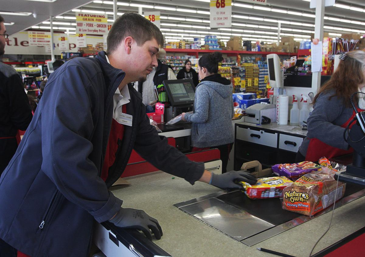 Minimum wage at Cost Less Grocery Store