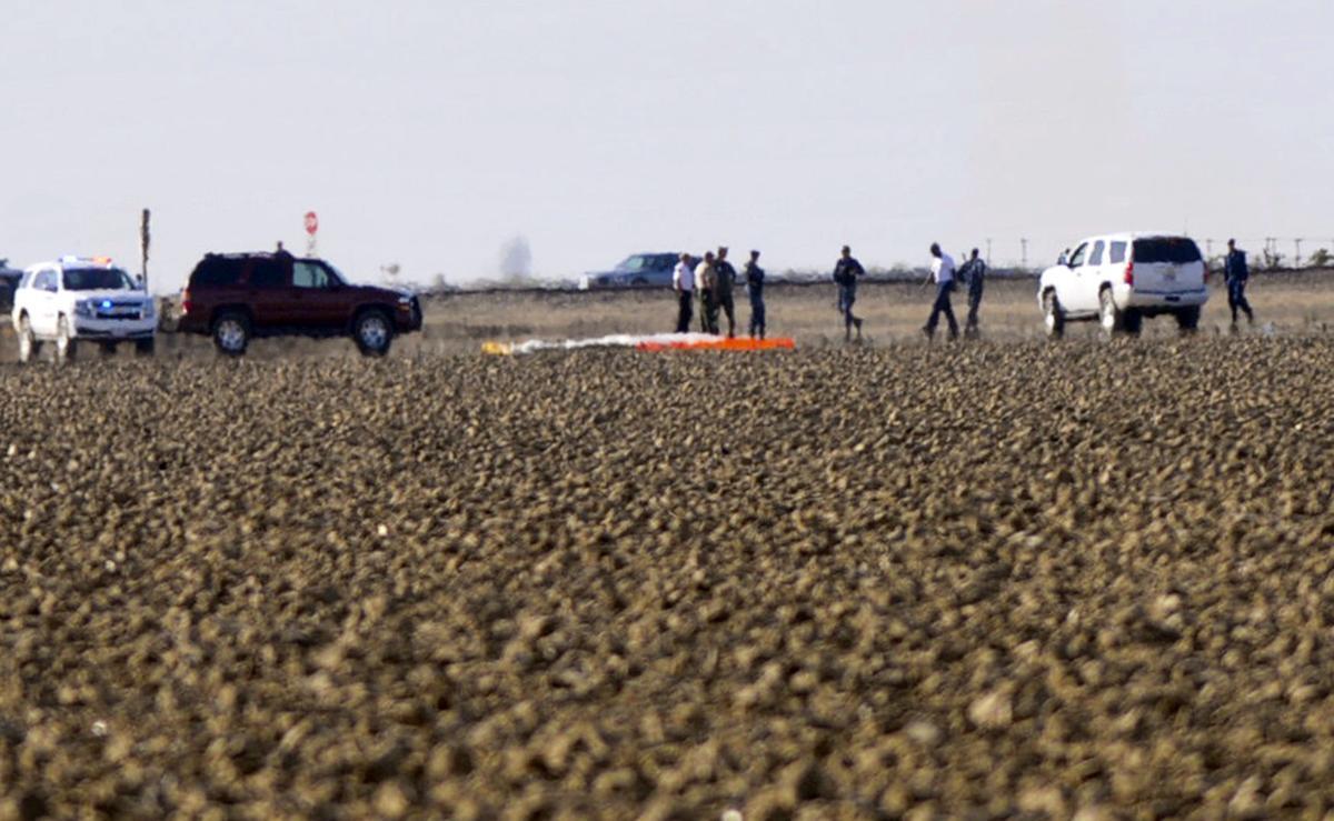 F/A-18E Super Hornet crashes west of Lemoore | Local