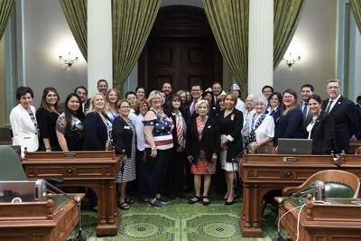 Assemblymember Salas Honors Blue Star Mothers at State Capitol