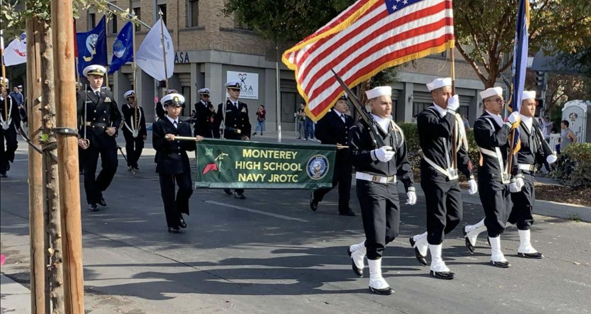 NAS Lemoore Personnel Participate in 100th Annual Central Valley Veterans Day Parade