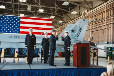 VFA-97 Holds Change of Command Ceremony