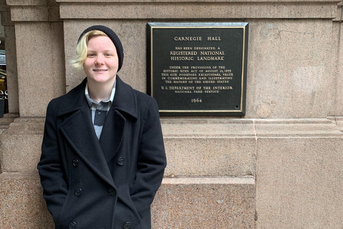 KHS trumpeter: Carnegie Hall