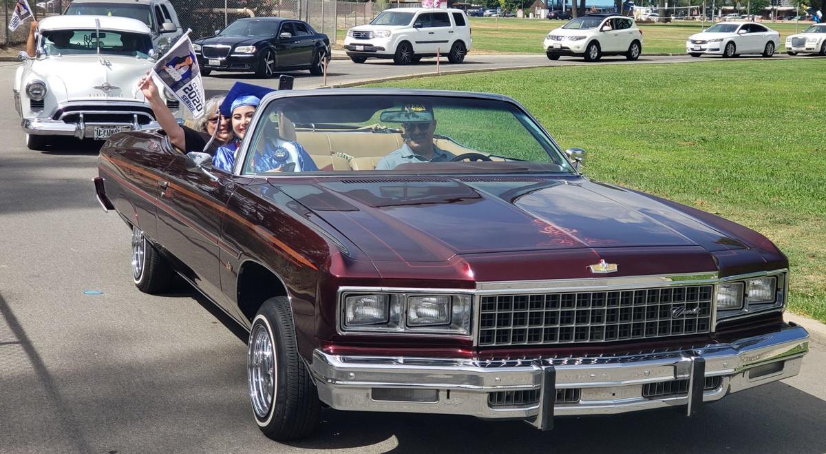 hanford west graduation car