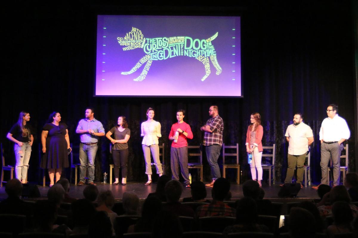 One-night play: Cast