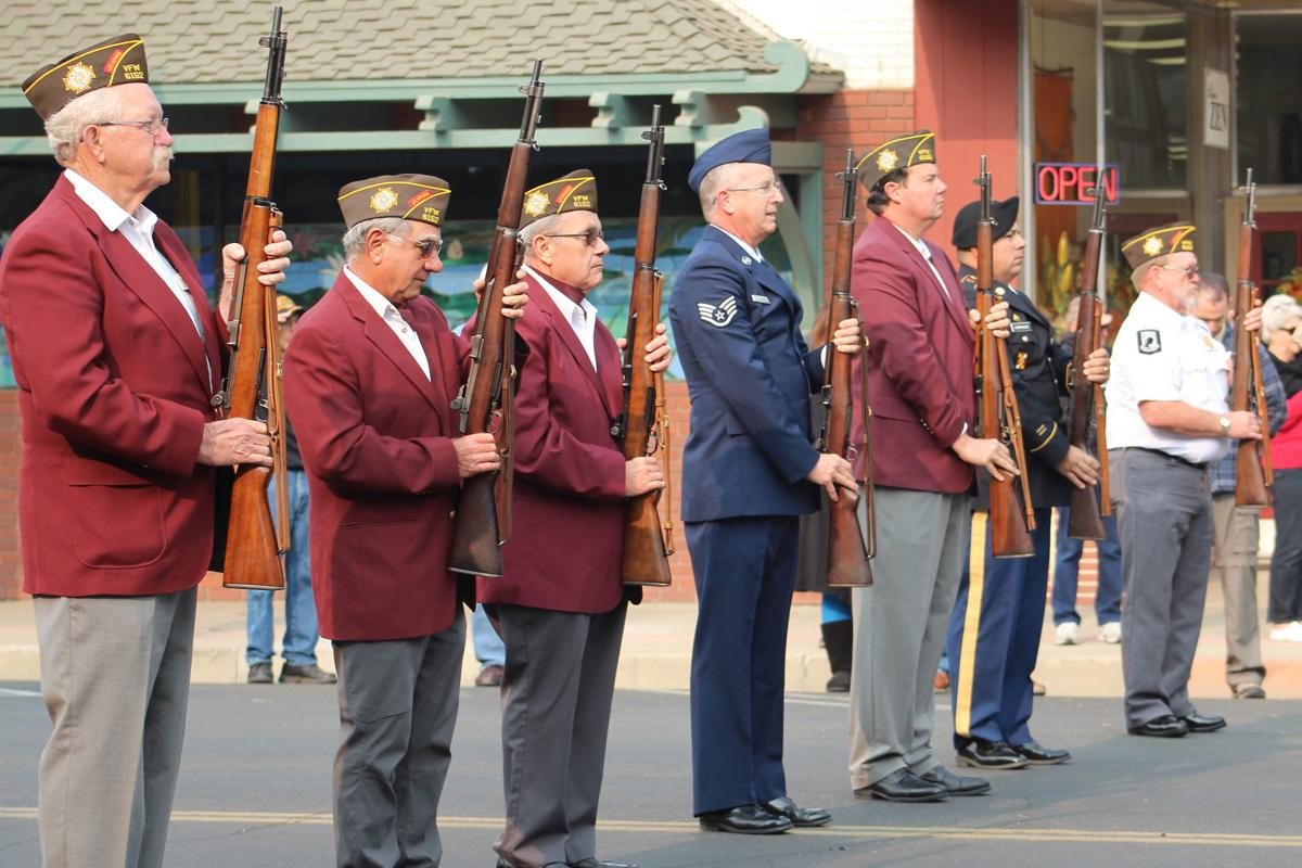 Gratitude: 21-gun salute