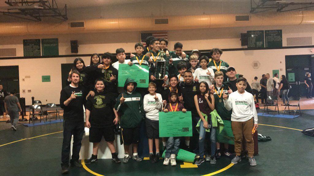 JFK hosts wrestling championships