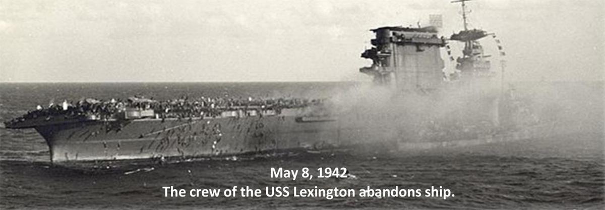 USS Lexingotn 1942