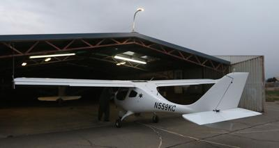 Sheriff plane and pilots