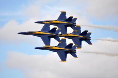 NAS Pensacola Hosts Blue Angels Homecoming Air Show