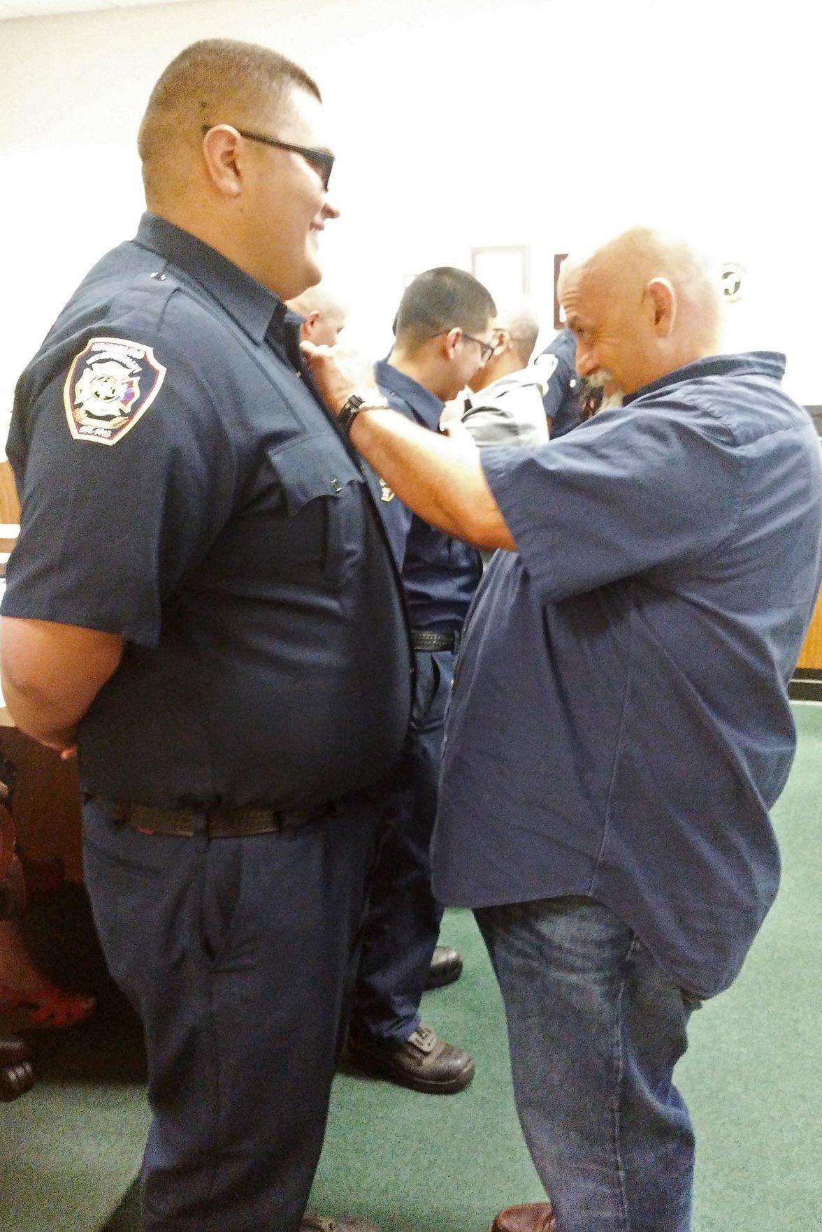 Firefighters: Sardisco