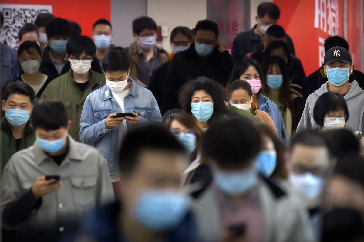 APTOPIX Virus Outbreak China