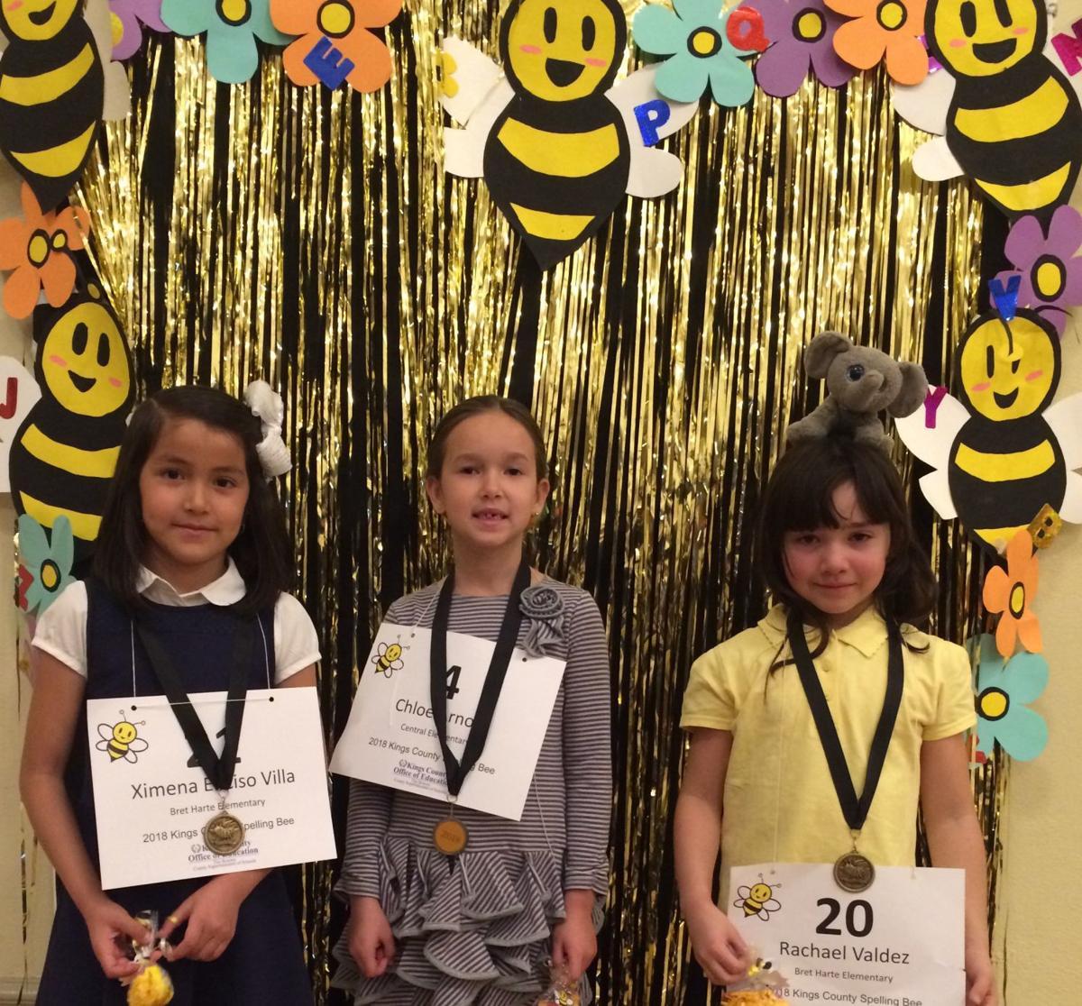 1st grade spelling bee winners