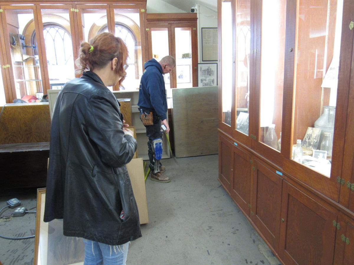 Carnegie museum restoration