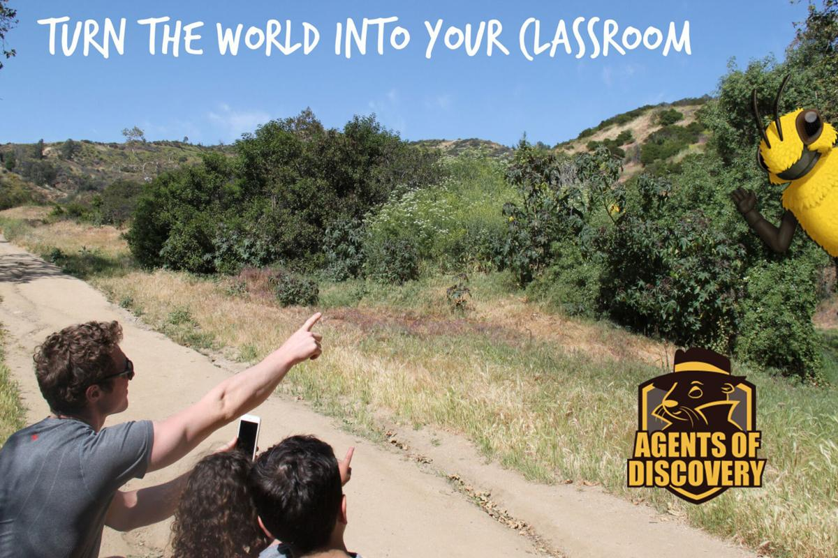 Agents of Discovery: Learning outdoors