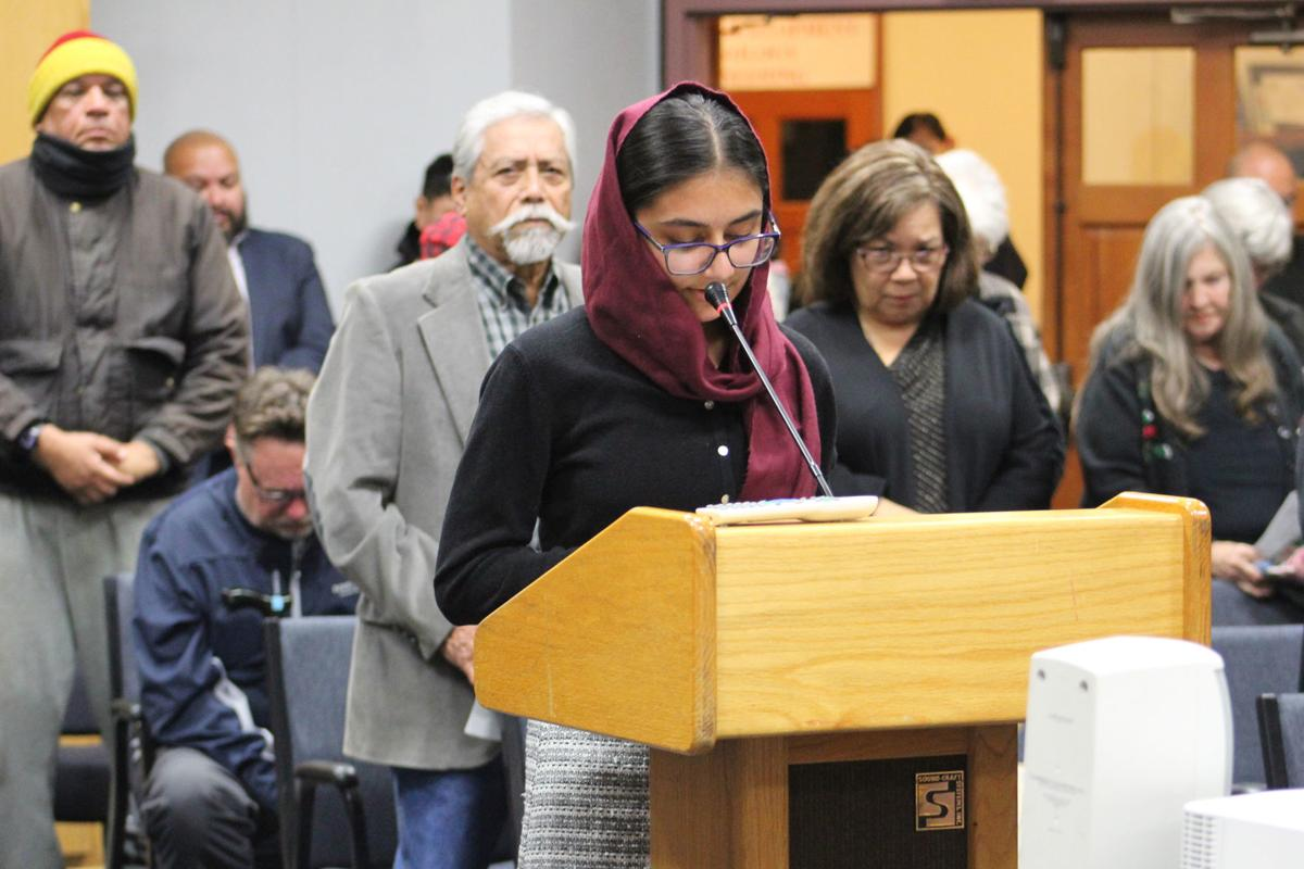 Council swears: A blessing for new council
