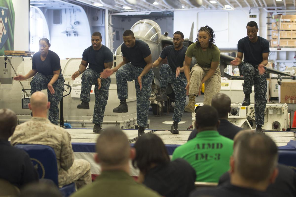 Navy honors the contributions of African Americans during 2018 African American/Black History Month
