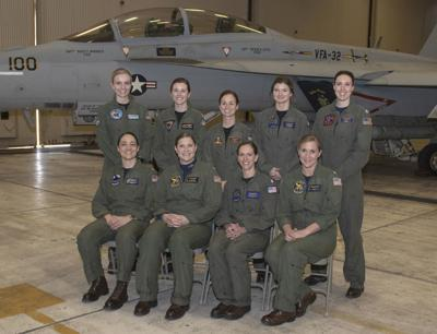 Hanford Native Participates in First Ever All-Female Flyover To Honor Female Naval Aviation Pioneer