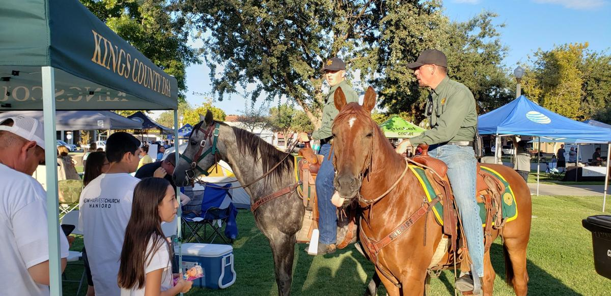 national night out horses
