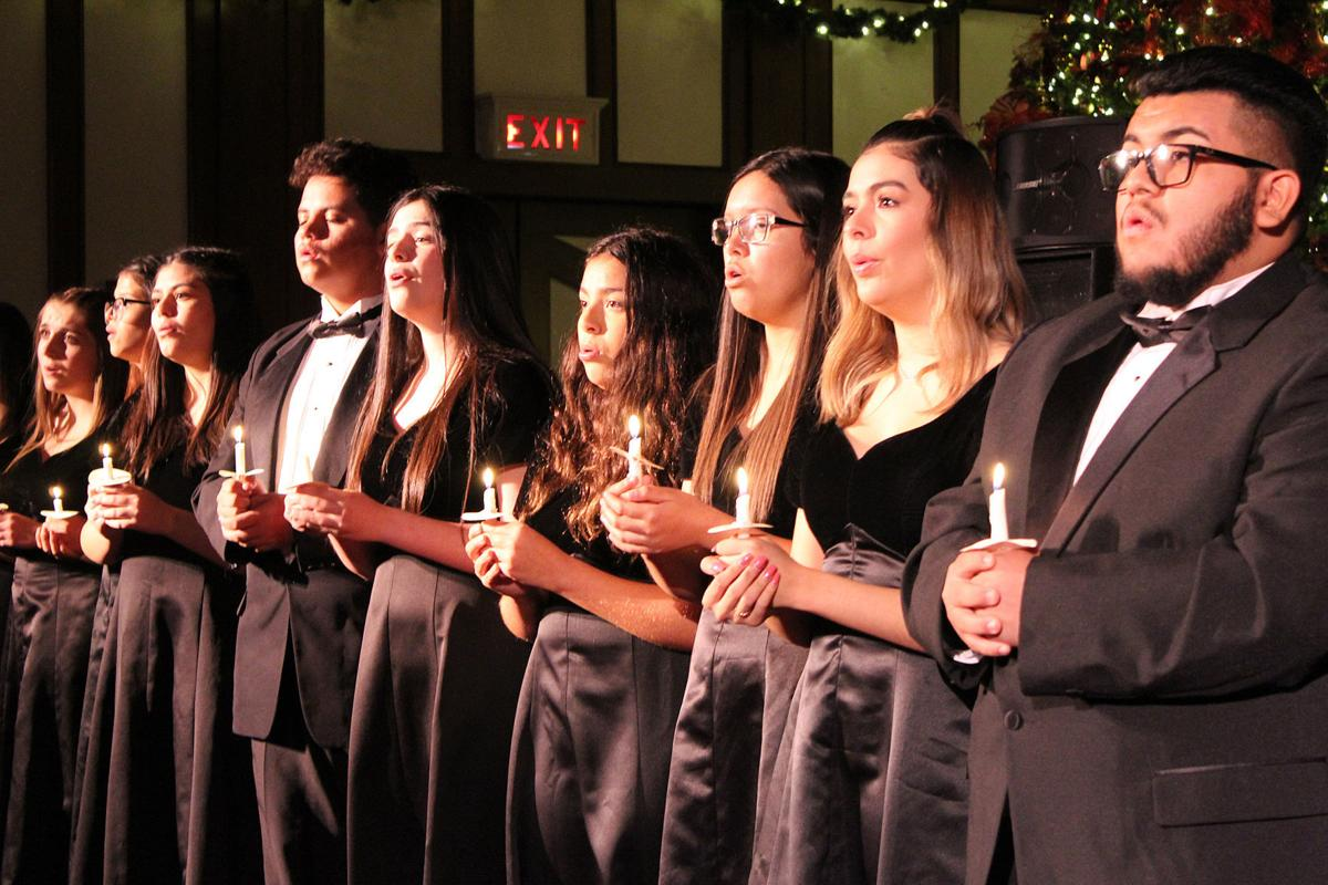 Selma High, ALMS Choirs perform songs to 'lift your spirit ...
