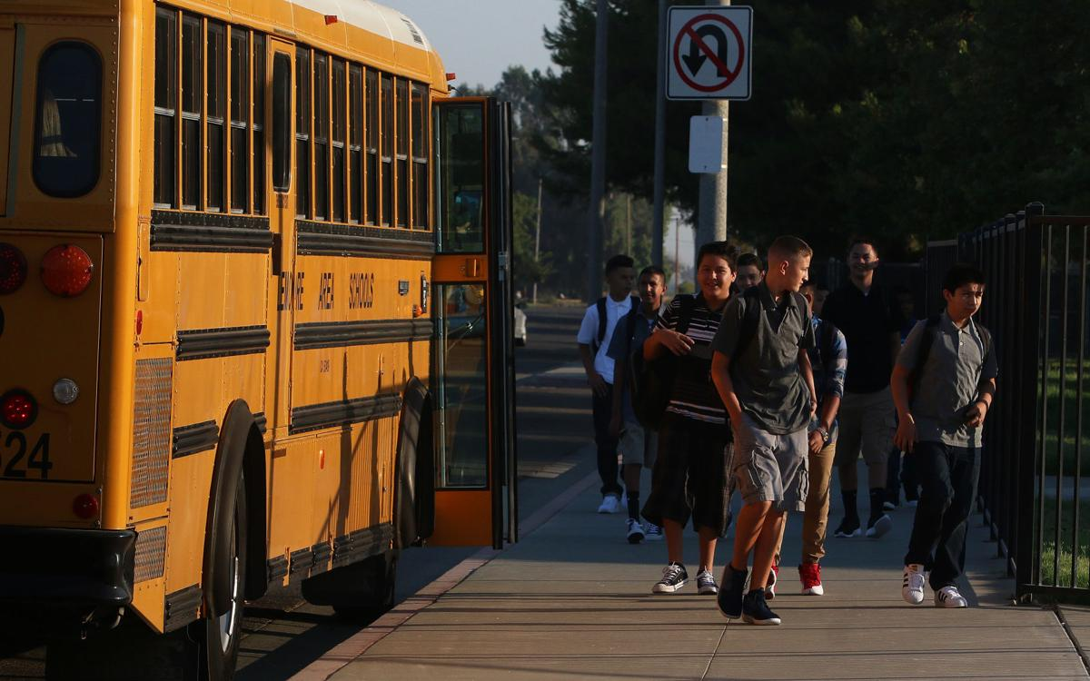 Lemoore Elementary first day of School