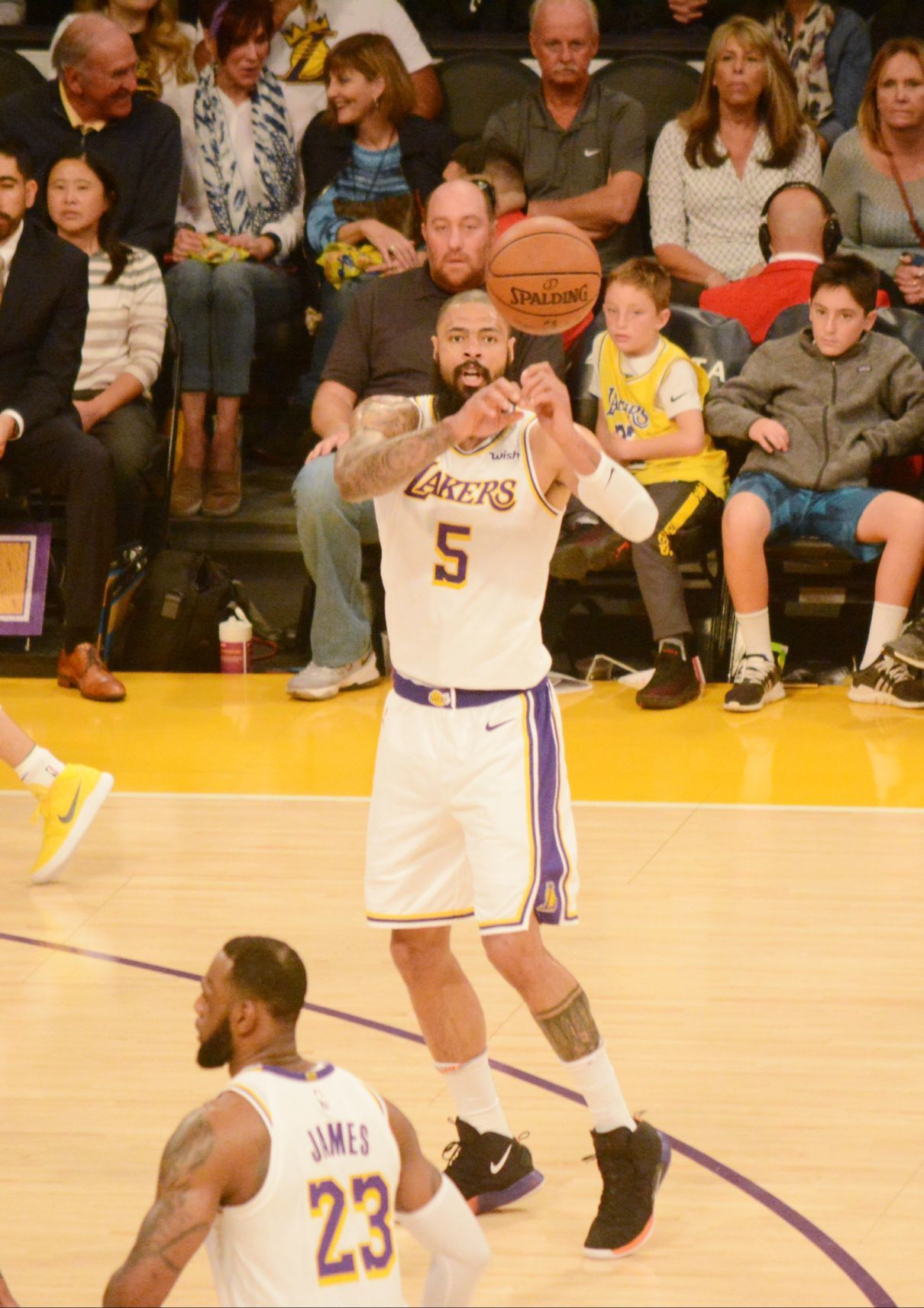 Lakers Tyson Chandler's work ethic molded in Hanford
